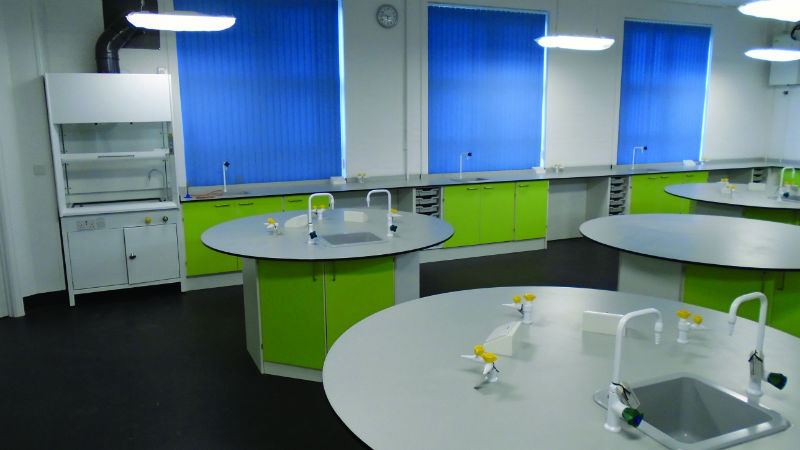 Modern Science Classroom ~ Thinking of refurbishing your science classrooms