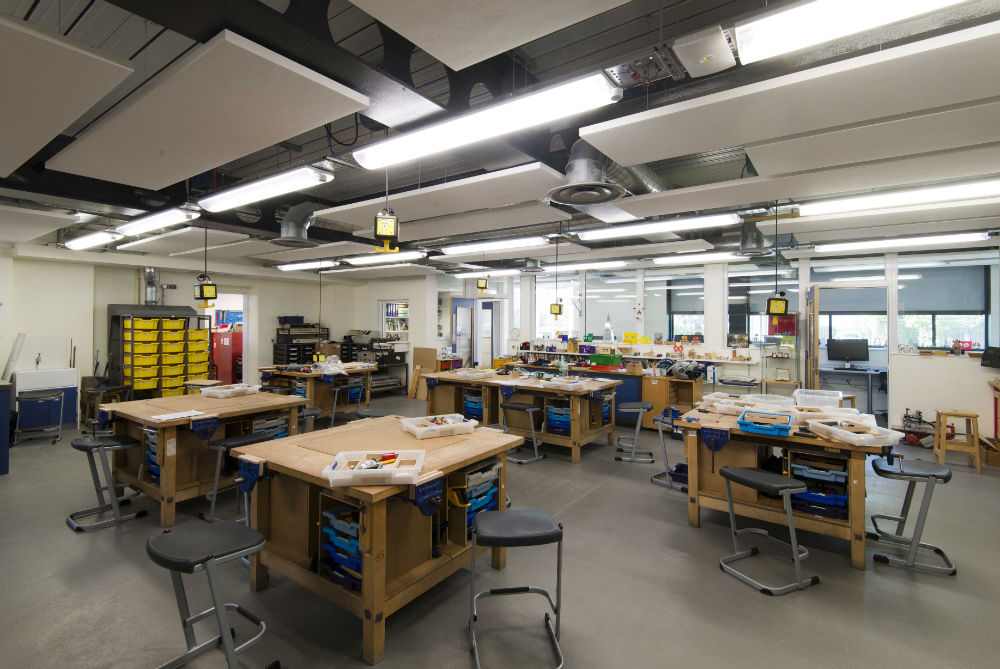 Classroom Lighting Design Standards ~ Stem facilities complete at dulwich education technology