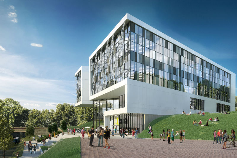 Edq ahr wins design brief at university of huddersfield for College building design