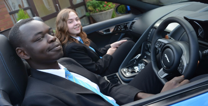 Jaguar Land Rover Helps Students Jump Start Their Careers Academy
