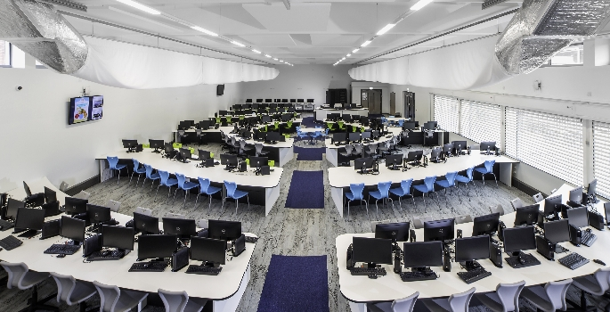 College Classroom Design Standards ~ Transforming the estate salford city college gets