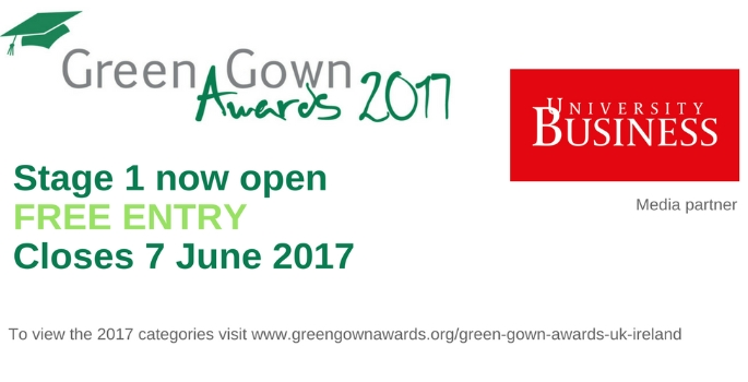 Green Gown Awards 2017 | University Business