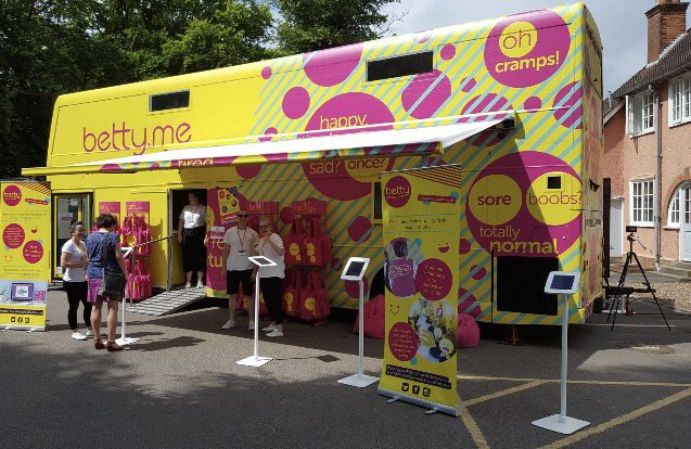 Team betty brings period awareness to Festival of Education