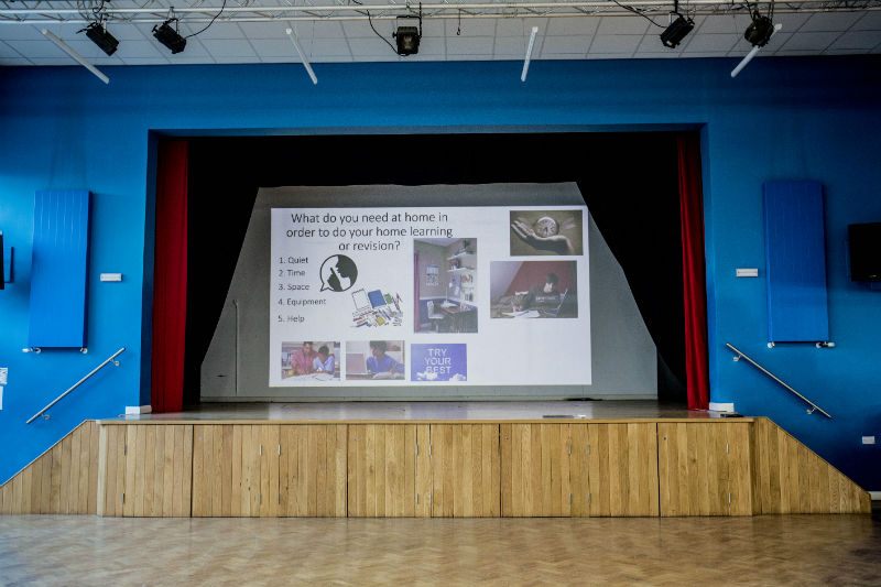 Coleshill School embraces the latest 4K projection tech