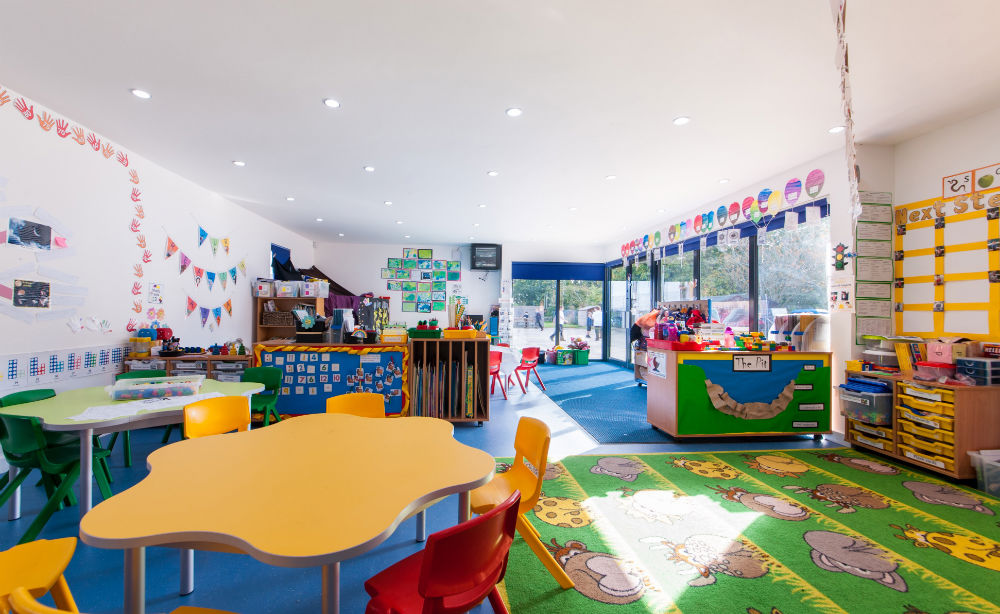 Modular Green Classroom : Offsite special modular building provides much needed