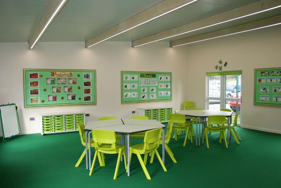Classroom Design Articles ~ Local mayor opens new state of the art schoolhaus