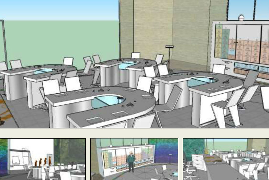 Classroom Design Concept ~ Birmingham students design own classroom building