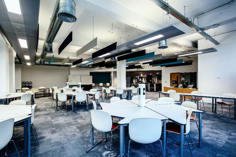 London library transforms into LSE student hub - University Business