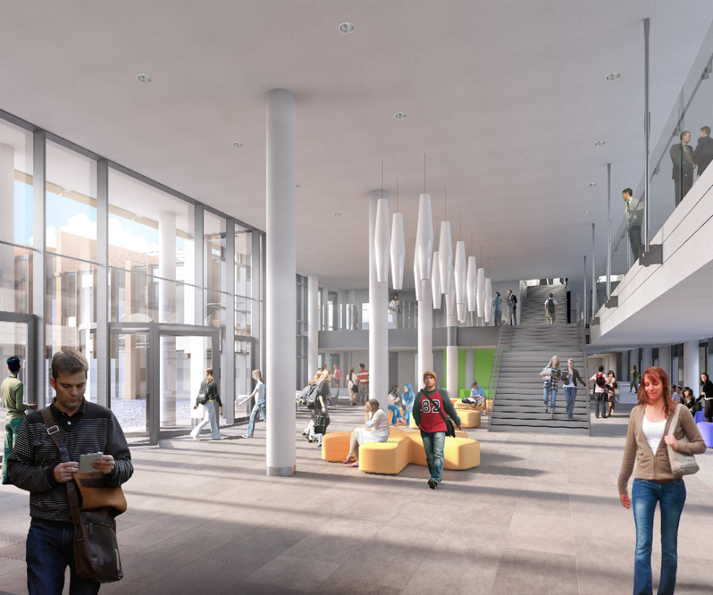 Oxford Brookes Redevelopment Gets Go Ahead Building 4