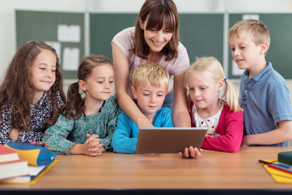 Engaging technology in the classroom
