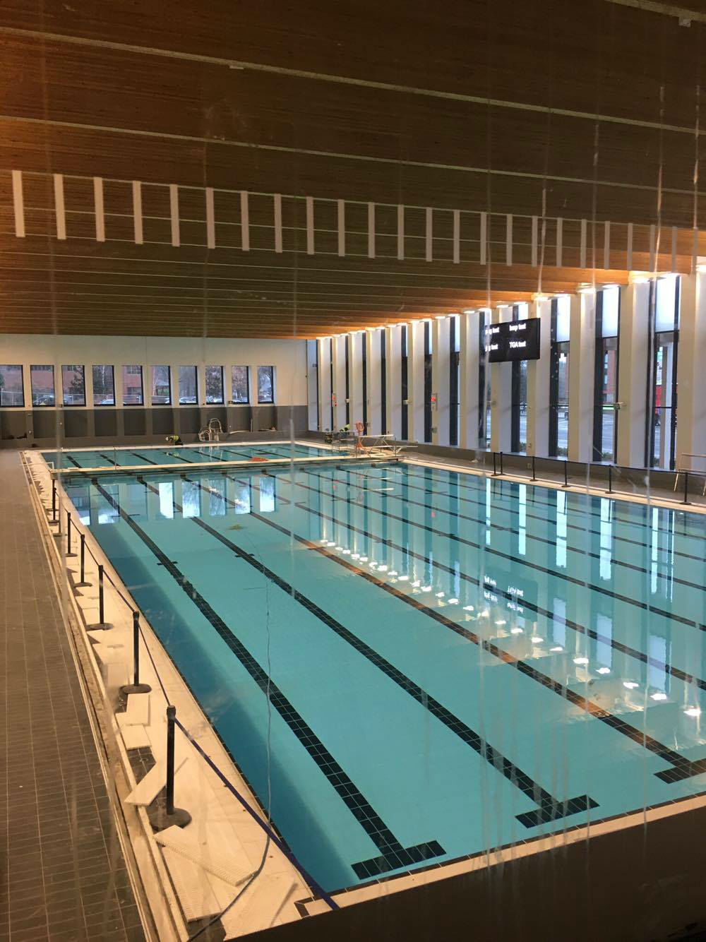 Fit for purpose university business University of birmingham swimming pool